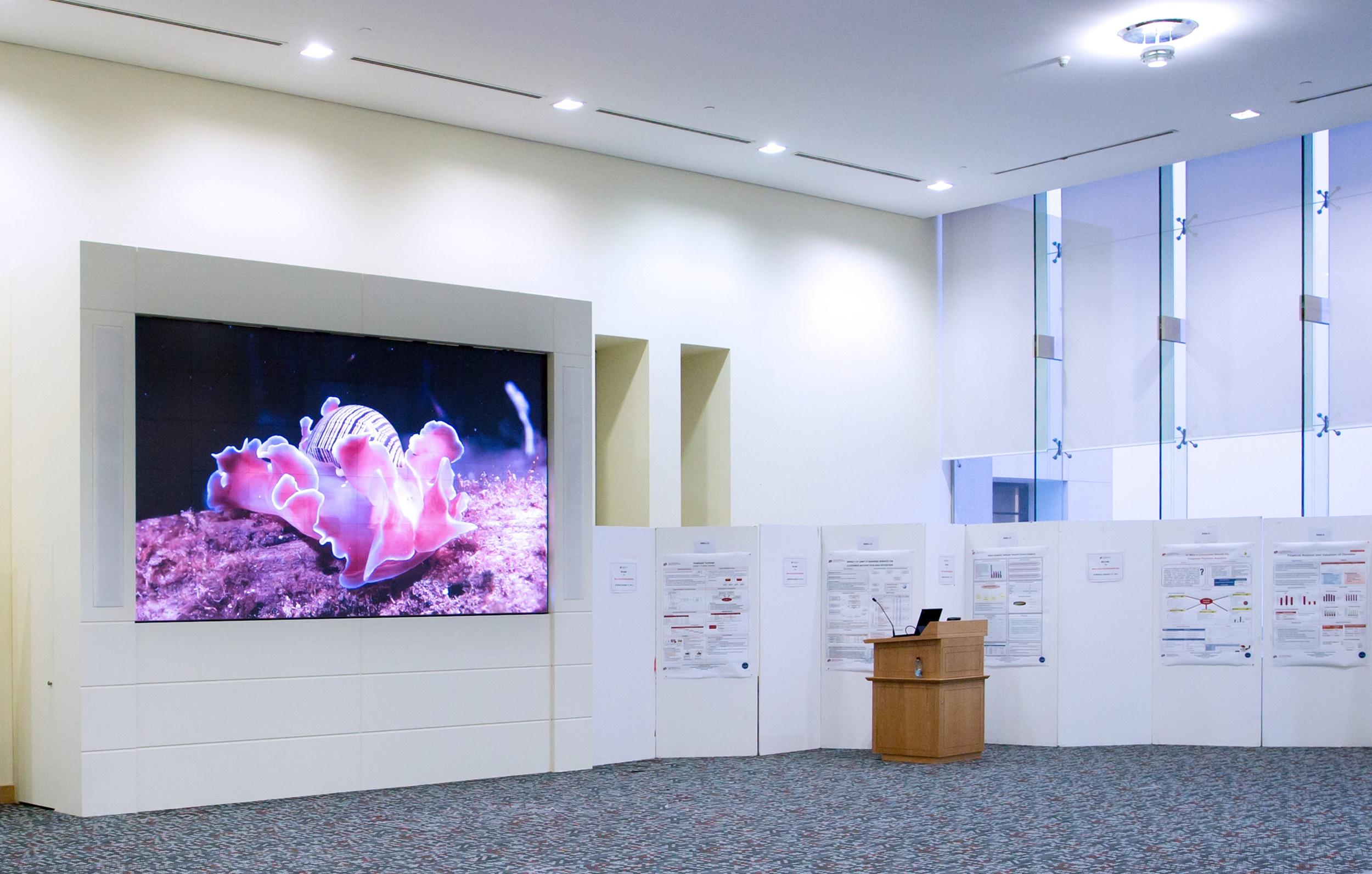 Qatar University Goes Green With Prysm Video Walls
