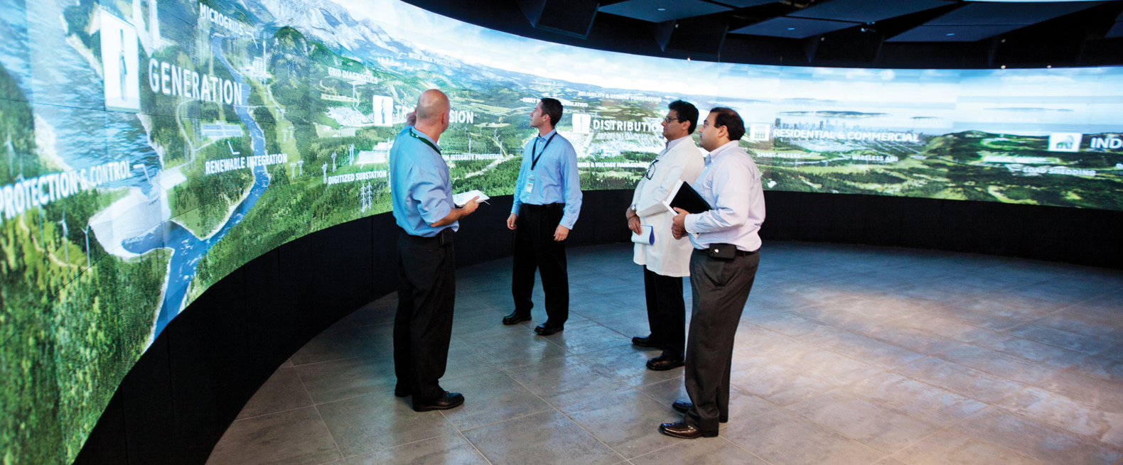 Prysm Video Wall at GE Customer Experience Center