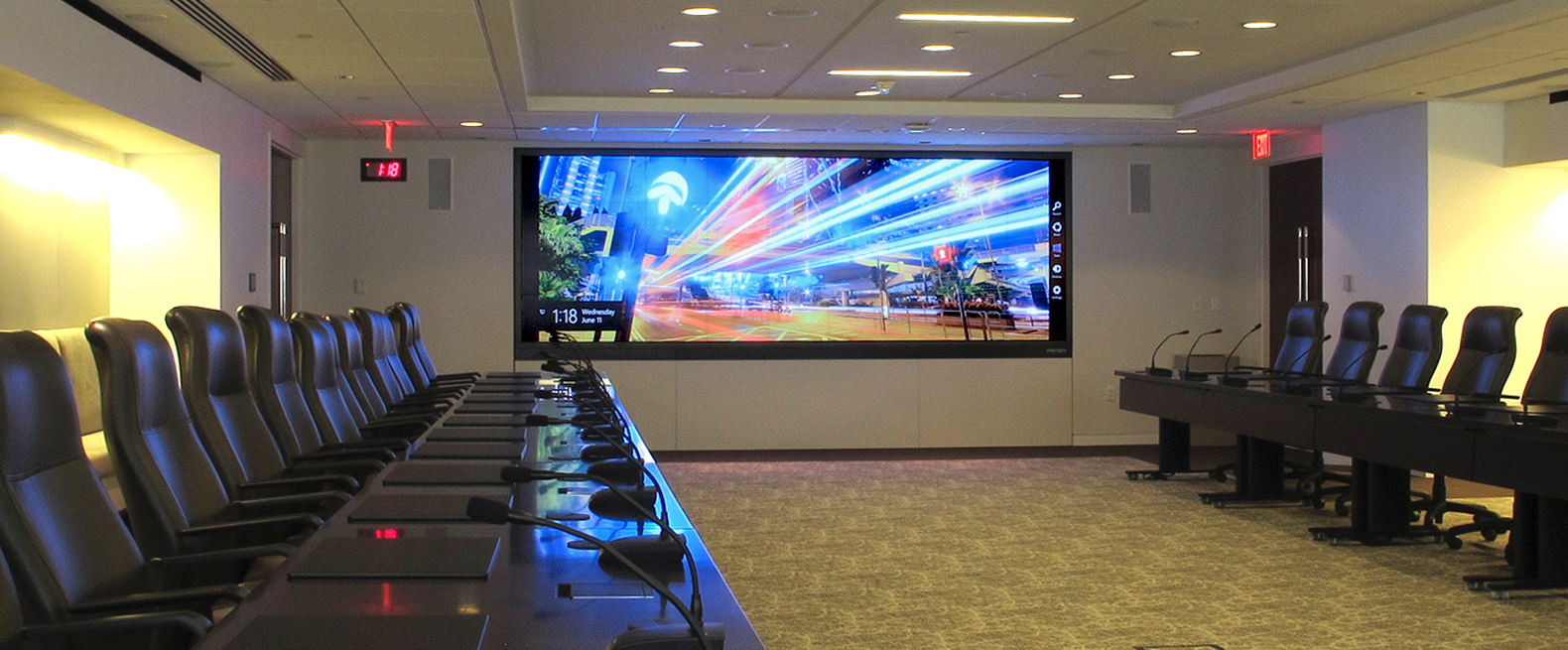 Prysm Video Wall at Phrma