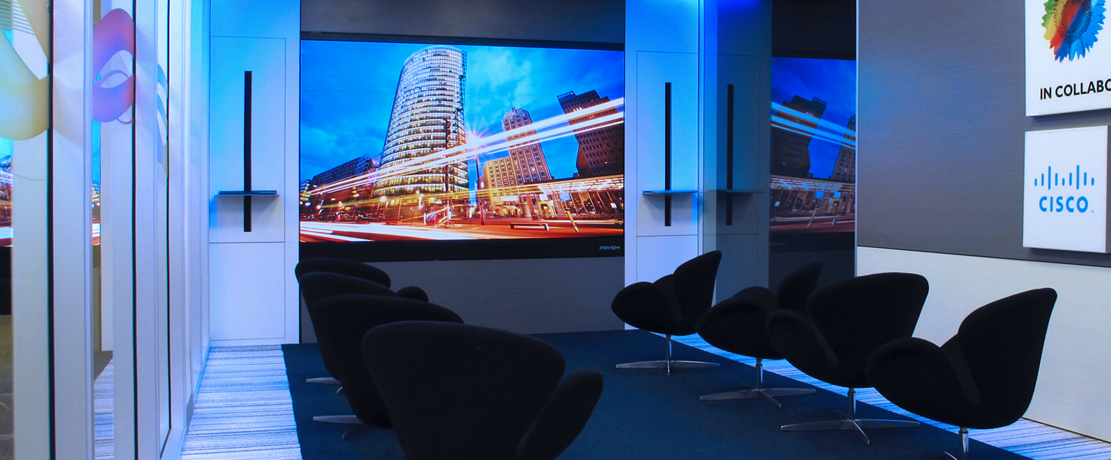 Prysm Video Wall at Wipro