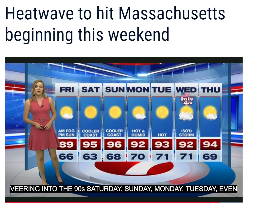 Boston Heat Wave