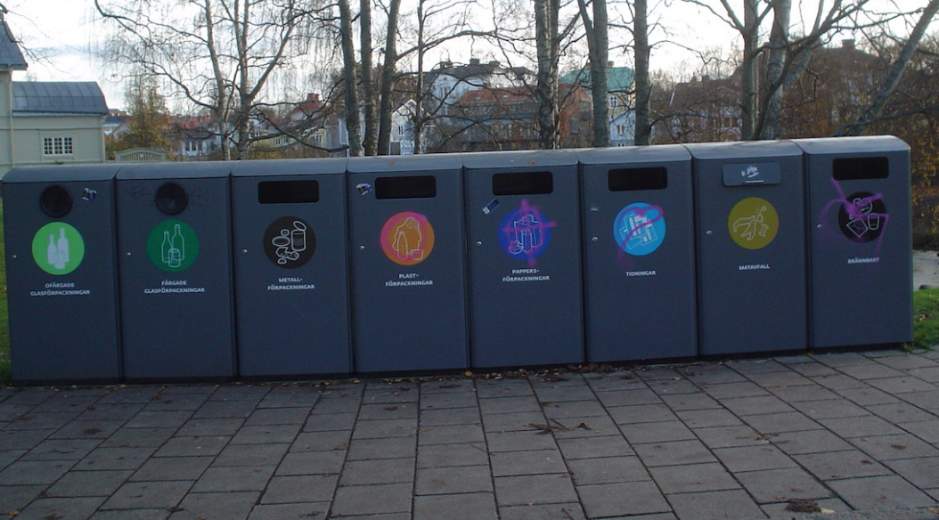 Sweden recycling