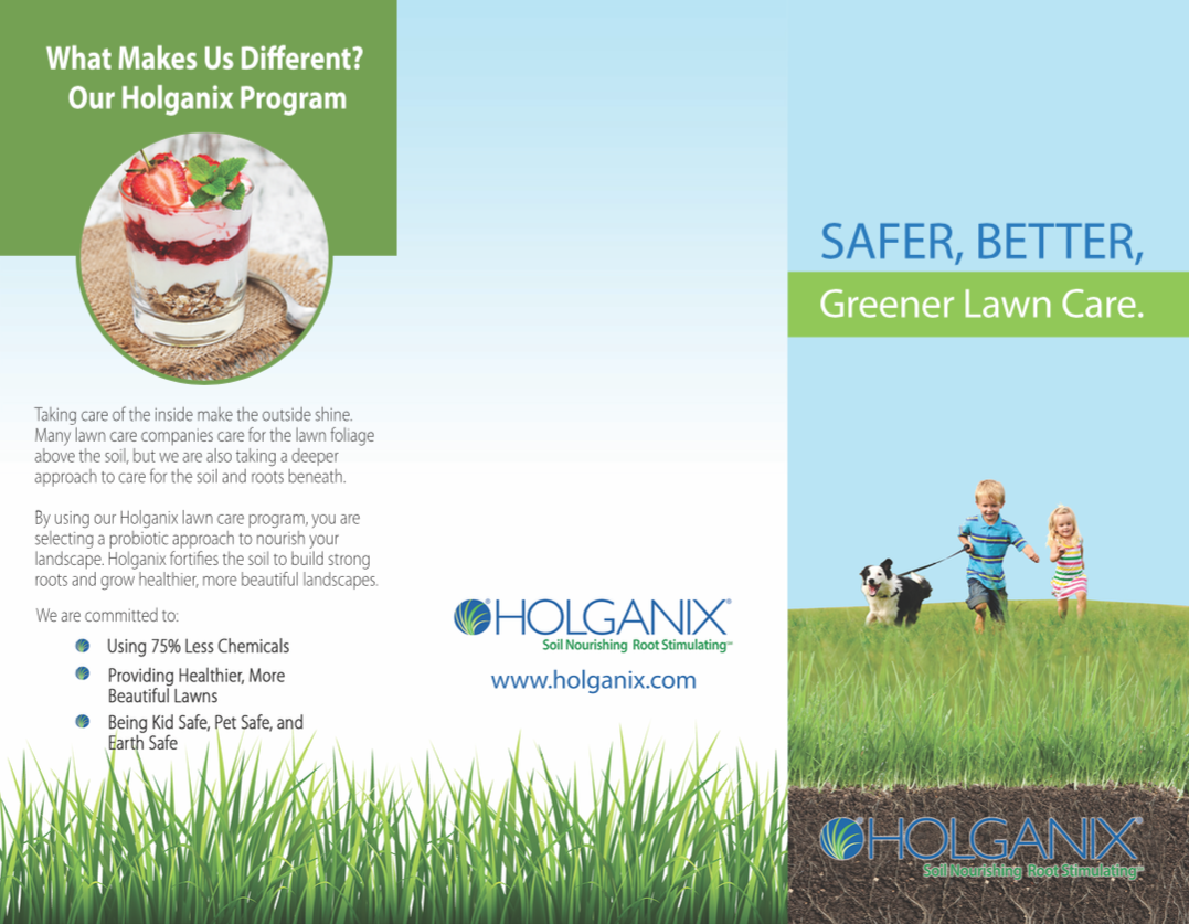 holganix brochures golf product brochure