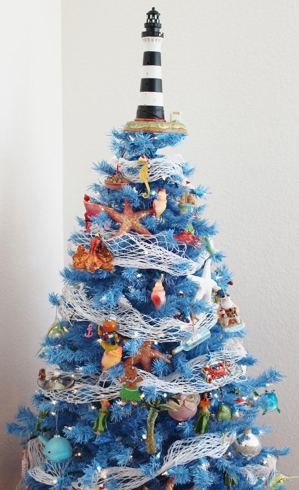 All fish christmas tree