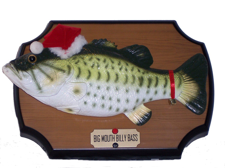 Big Mouth Santa Bass
