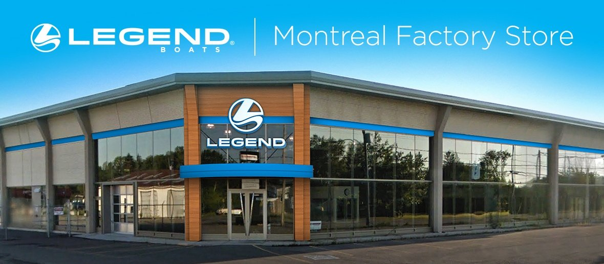 Legend Boats Montreal Opens Its Doors this Summer.