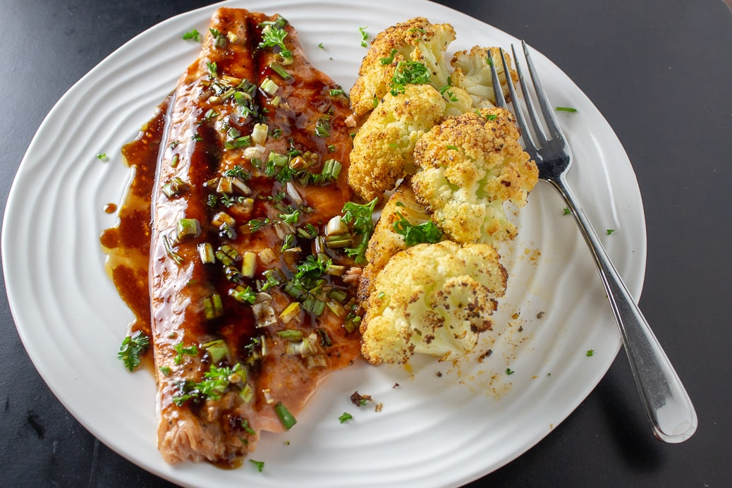Sweet Maple Rainbow Trout Recipe
