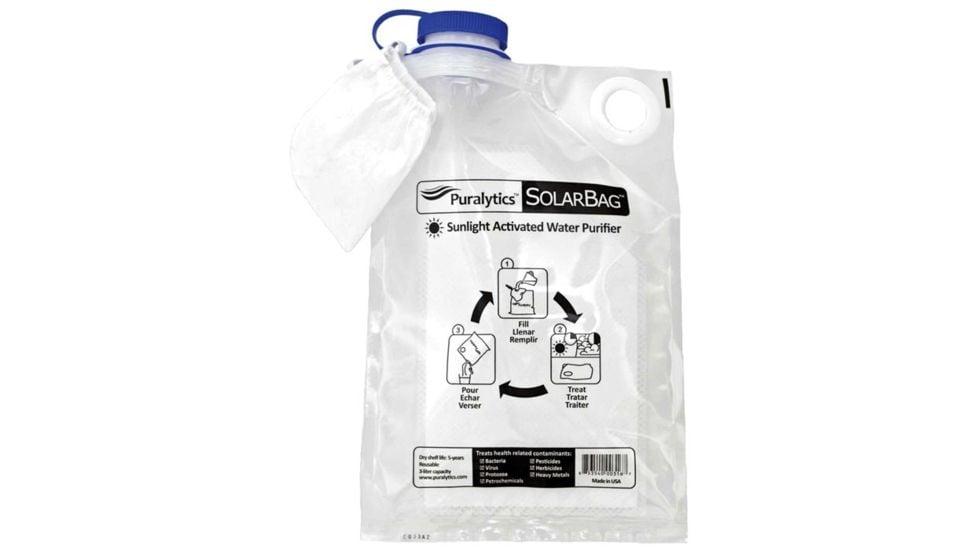 solar water bag