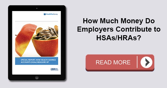 How much money to employers contribute to HSAs?