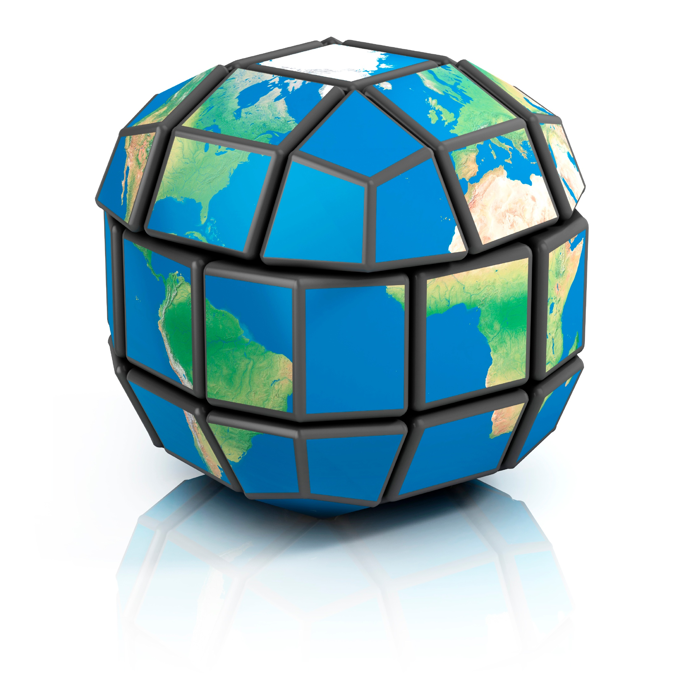 globe Earth puzzle