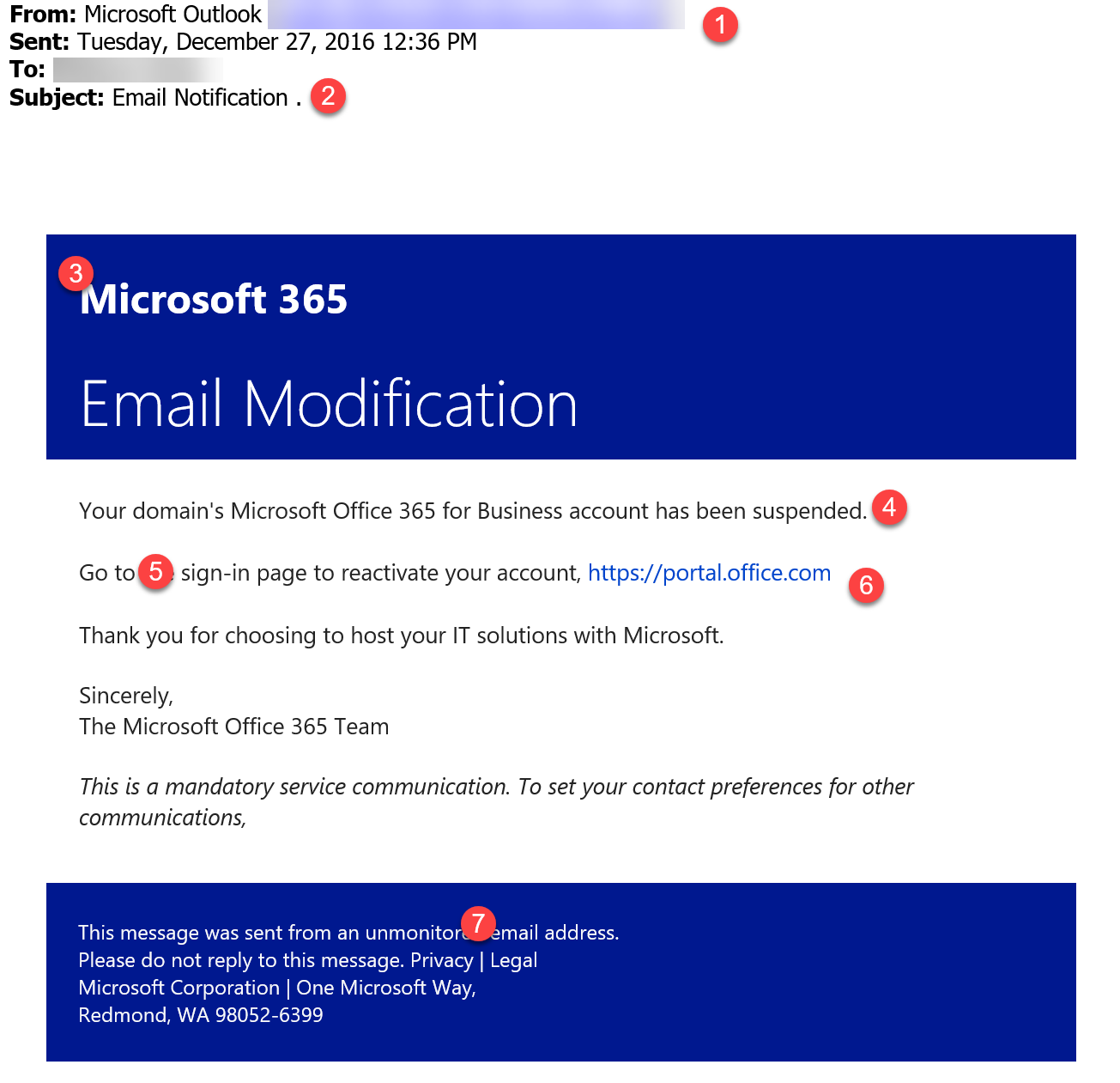 365 Outlook Email Sign In - Office365 phishing email png