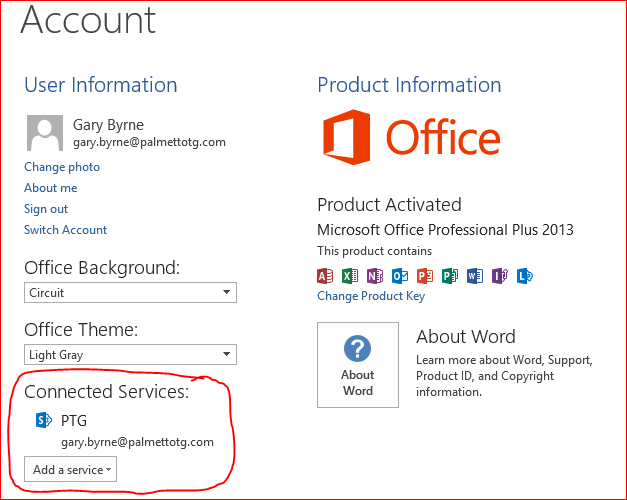 get product key from office 365 account
