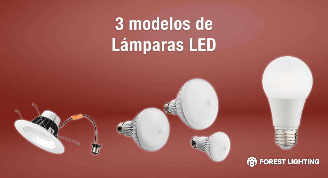 3 modelos de l mparas led de forest lighting - Modelos de lamparas ...