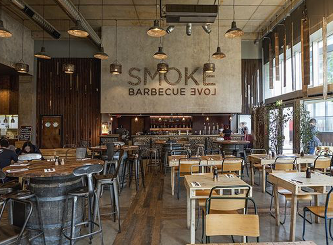 Beautiful Bbq Restaurant Design Ideas Photos - Decorating Interior ...