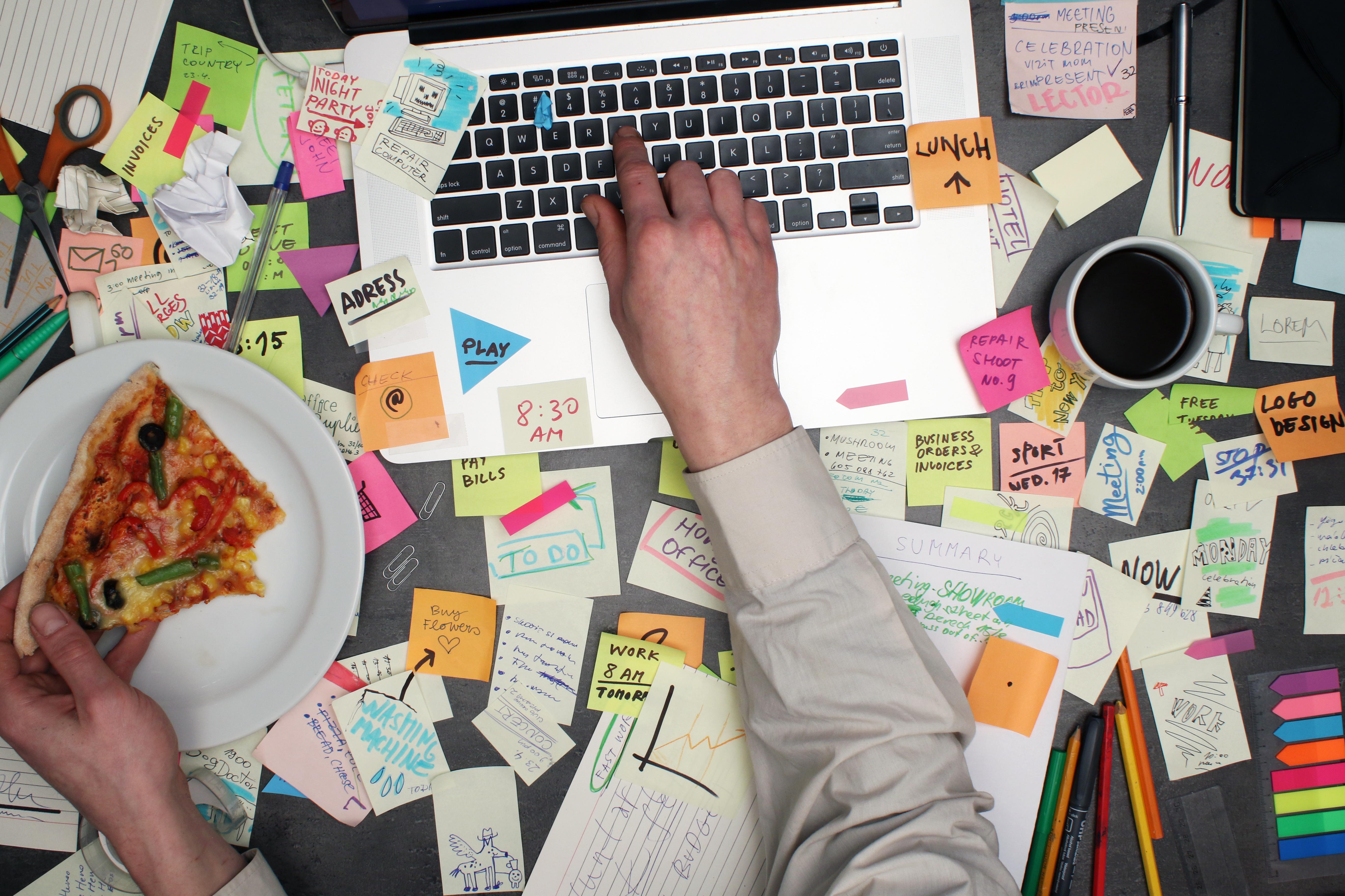 Multitasking at Computer
