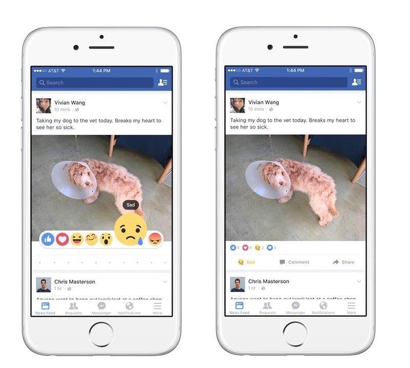 Like it, Love it, or Laugh at it: Facebook Introduces
