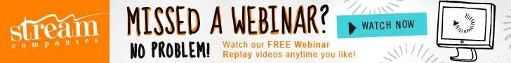 Stream Webinar Replay