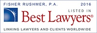 Fisher Rushmer, P.A. 2016 Listed in Best Lawyers | Linking Lawyers and Clients Worldwide