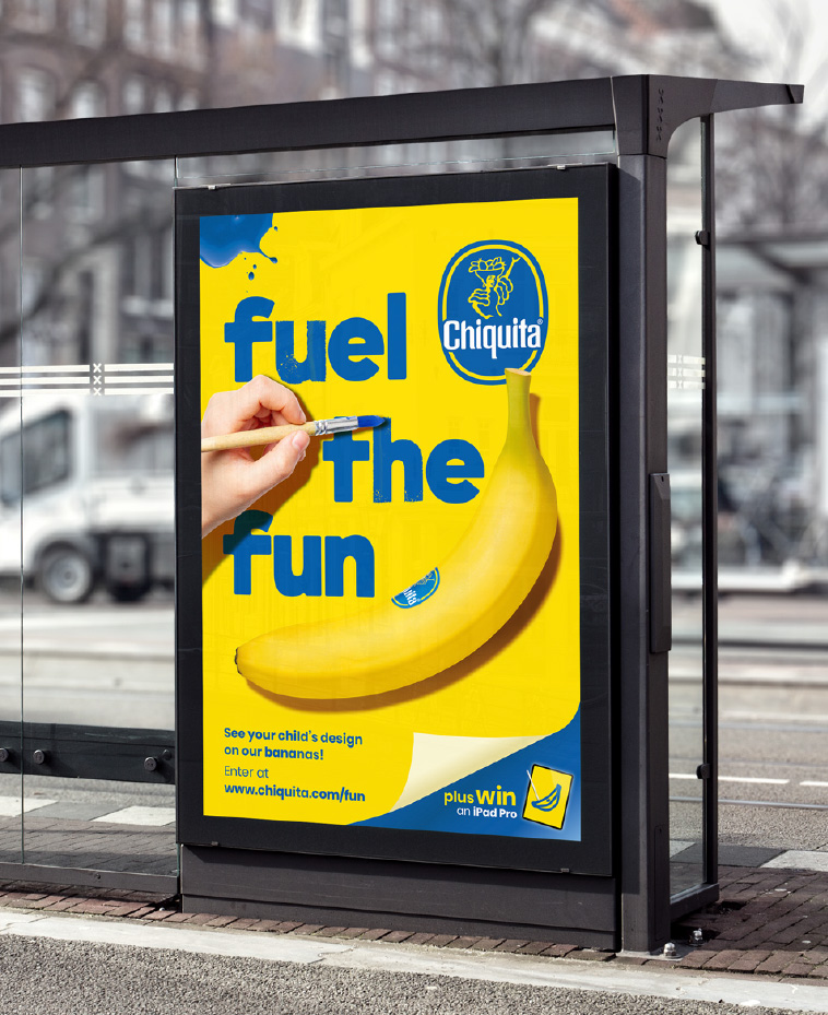 Messaging spread through OOH as well as digital and in-store