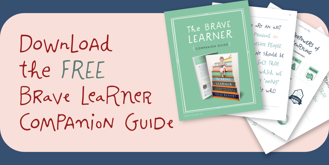 Image result for the brave learner companion guide