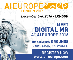 DigitalMR at AI Europe