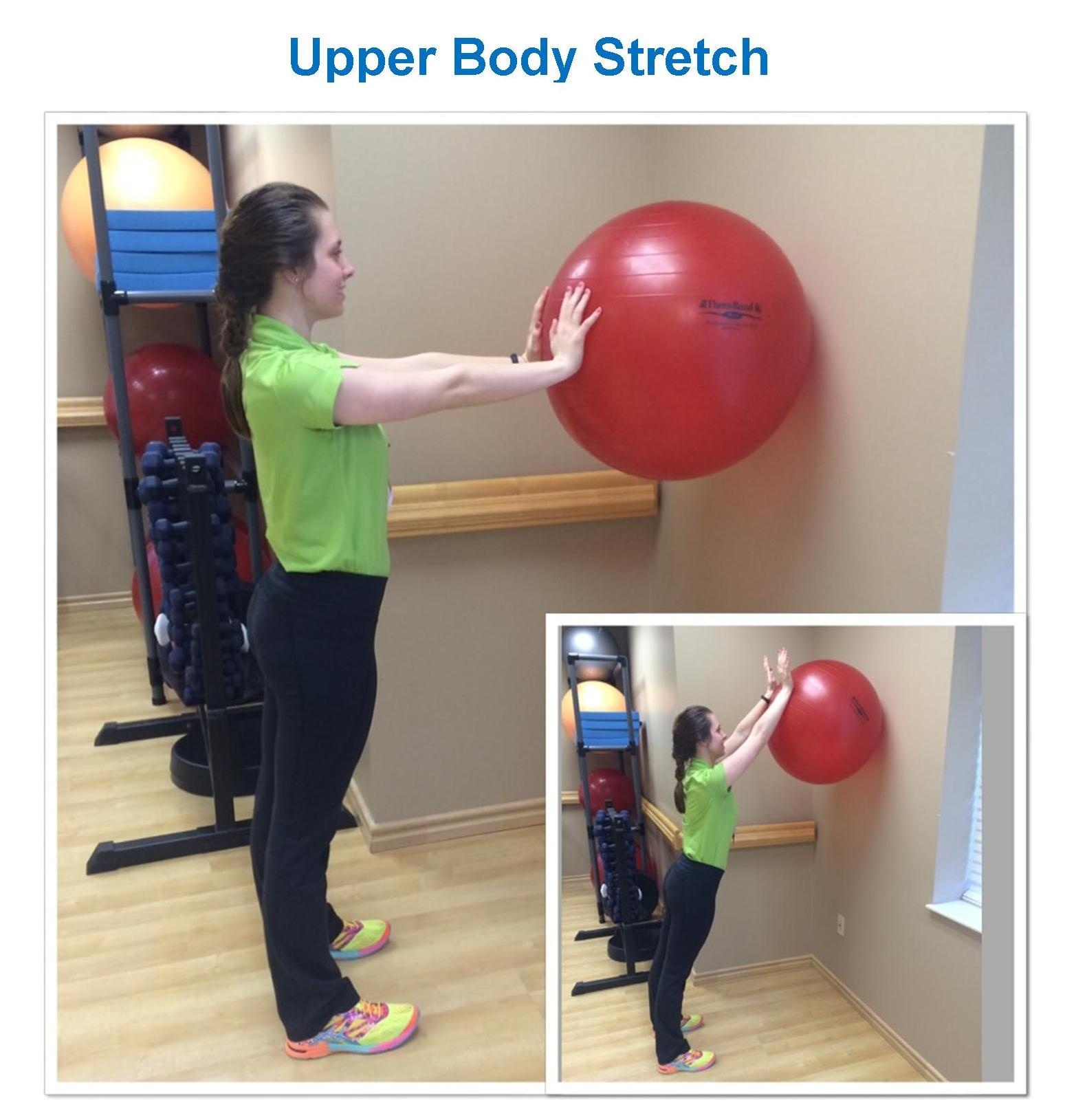 Upper body stretch