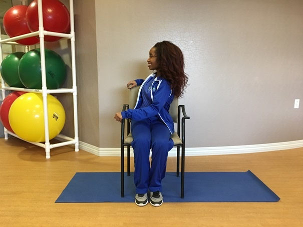 Back Stretches for seniors