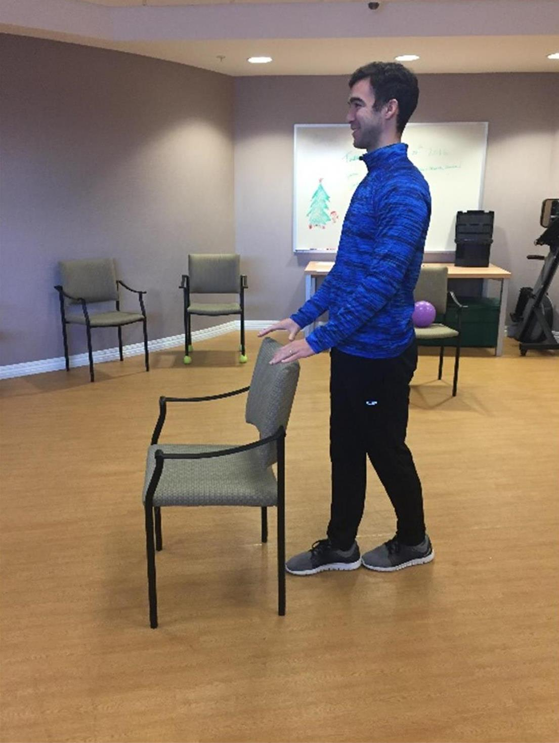 Tandem Stance balance exercise to do at home