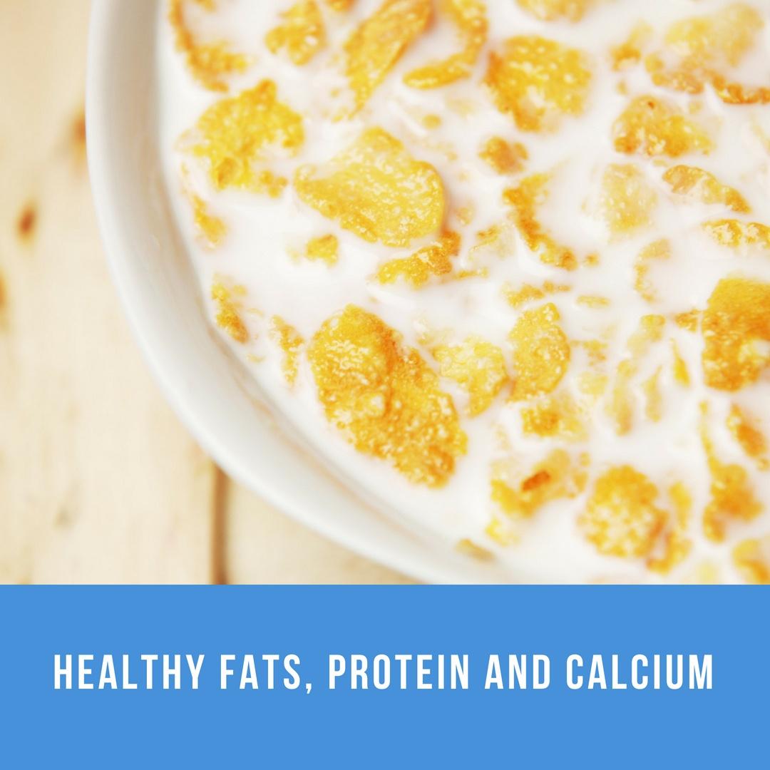 healthy snacks- cereal
