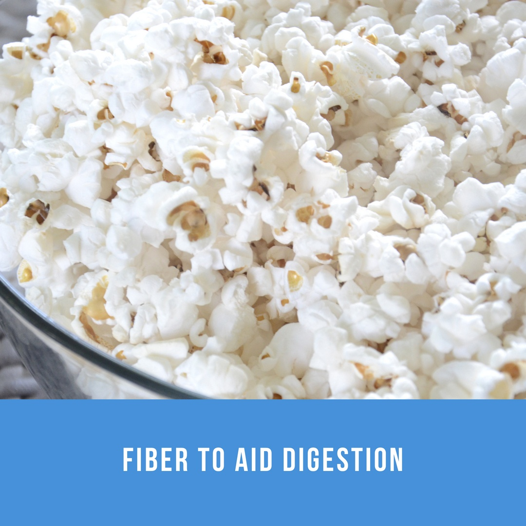 healthy snacks- popcorn
