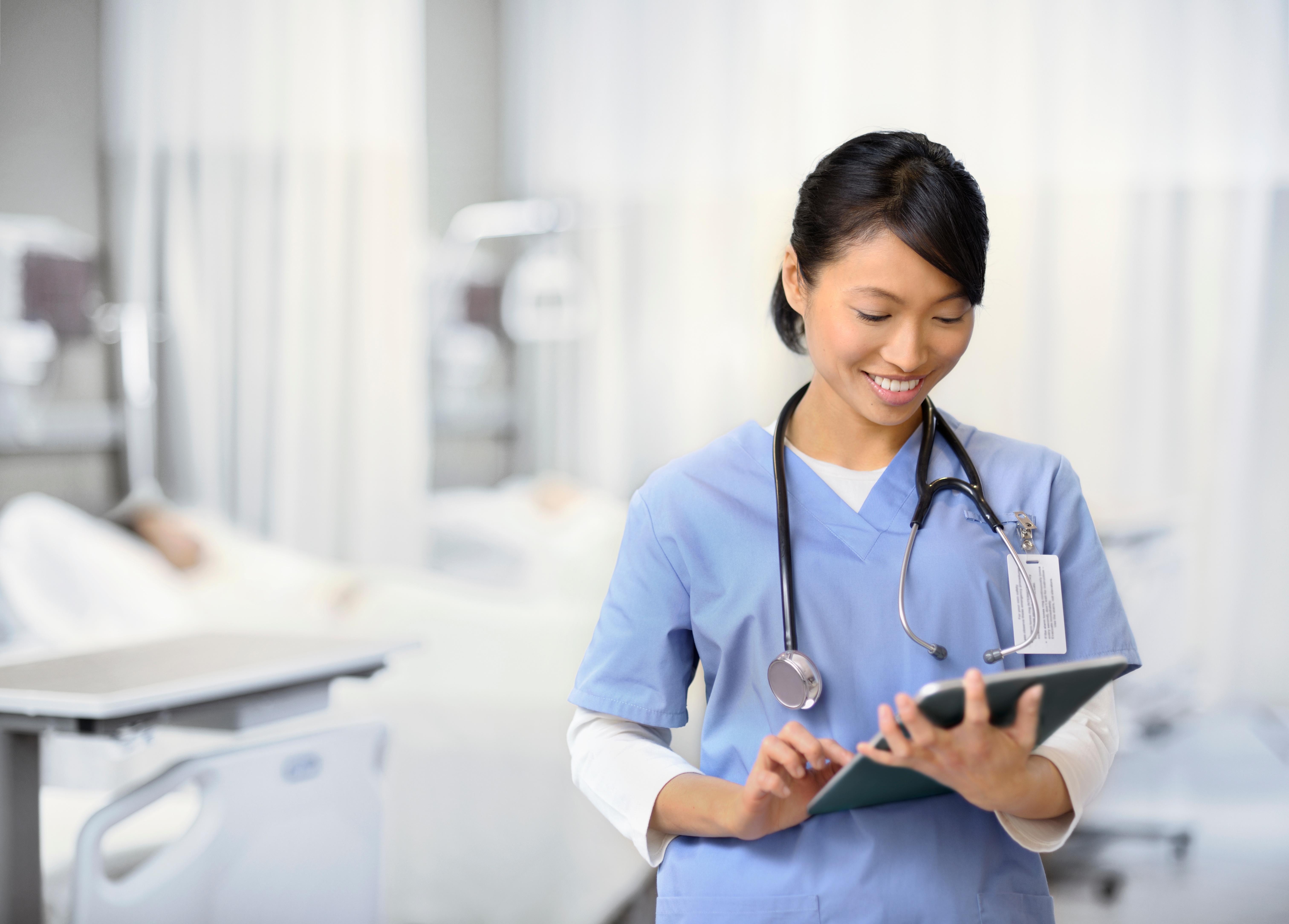 Thai female doctor