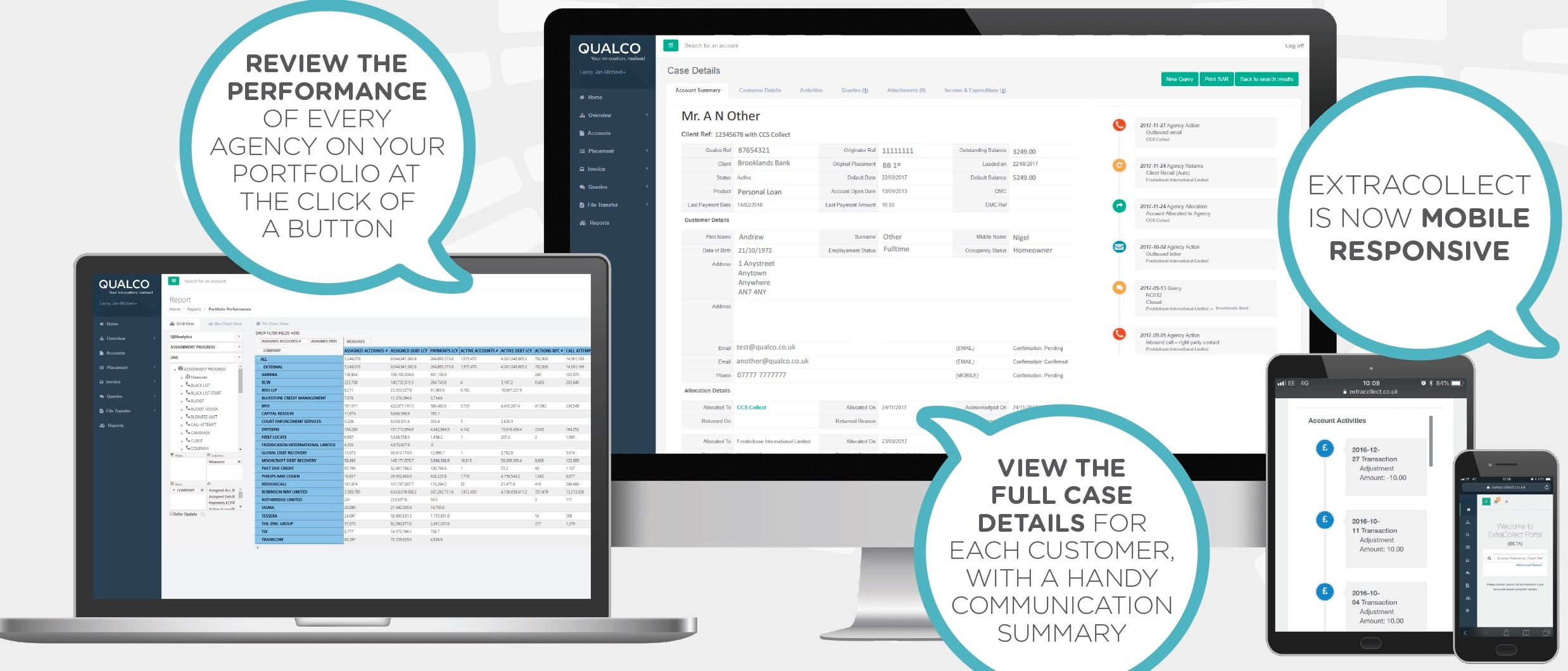 Qualco UK Unveils Major Platform Update To Offer Enhanced Visibility Of Accounts And Rich Data Insight