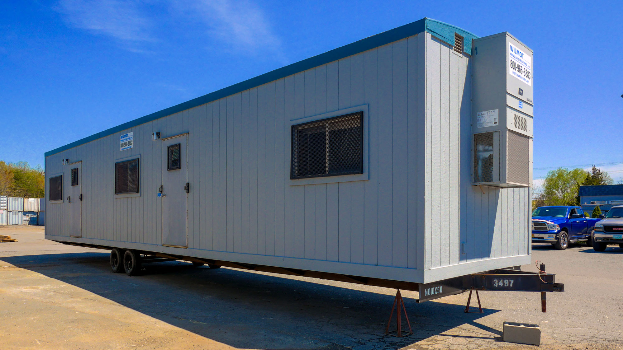 Custom Mobile Office Building Space Solutions | Wilmot Modular on new construction materials, log cabin materials, pueblo home materials,