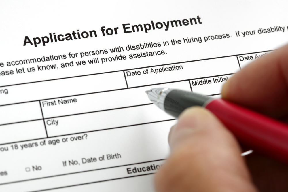 A checklist for your job application process
