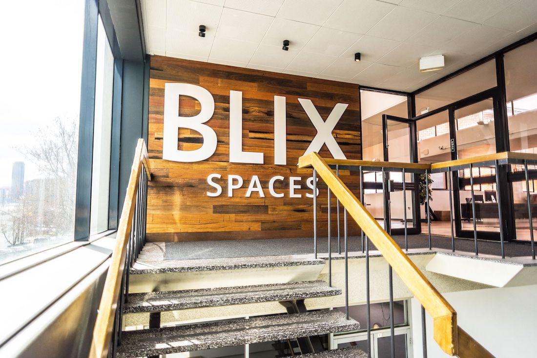 Photo: Entrance to Blix Spaces