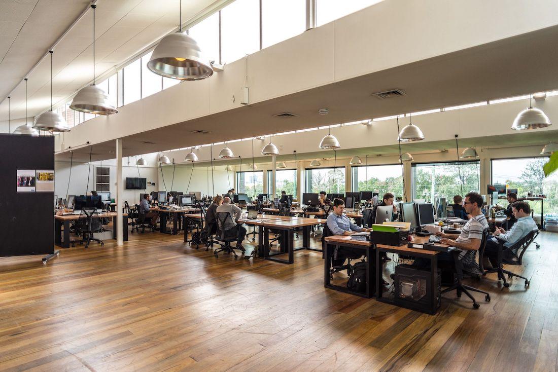 Photo: Desk area