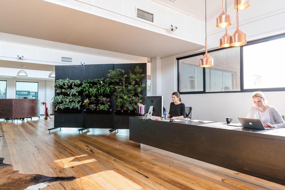 Photo: Reception desk