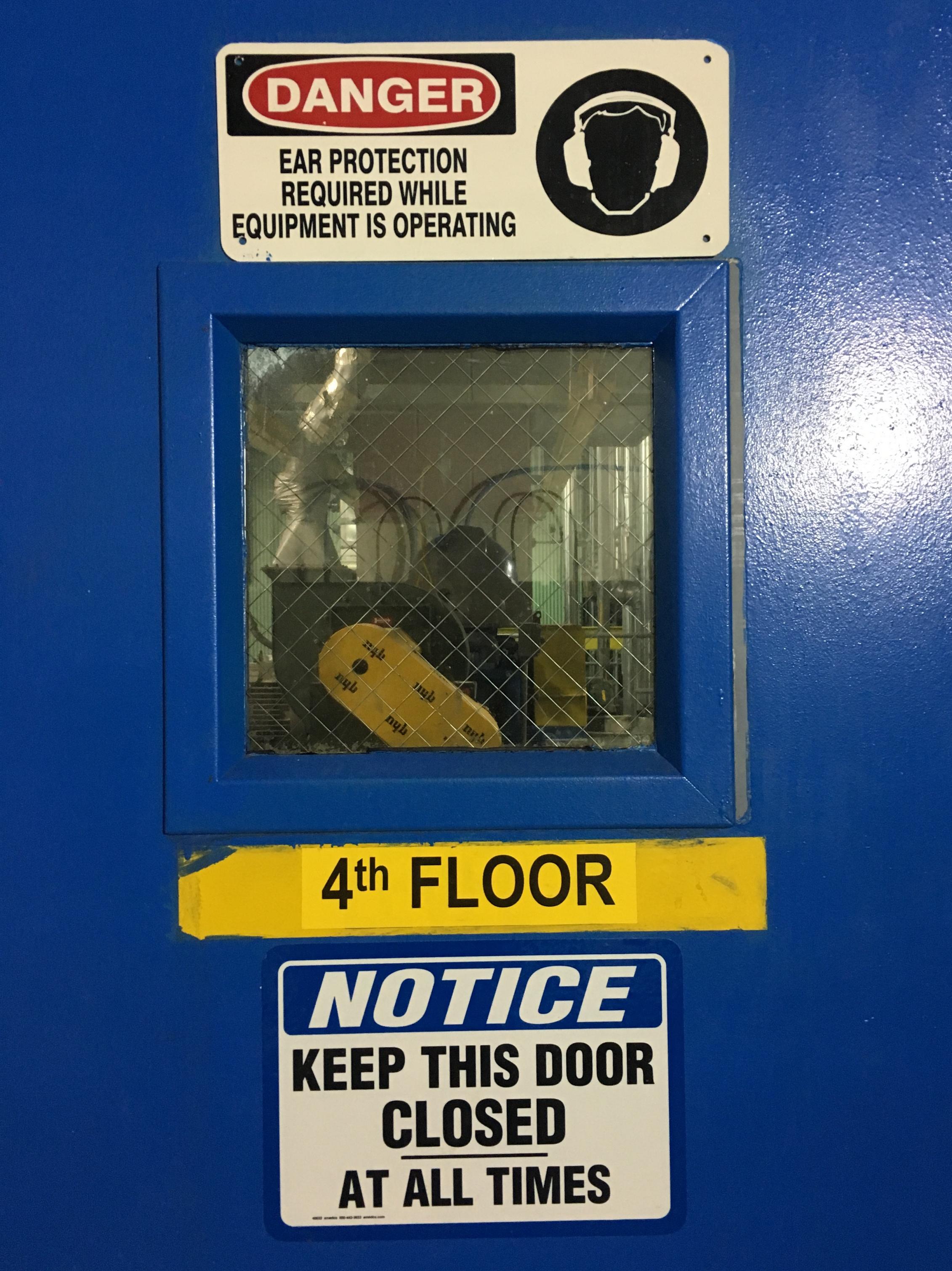 Protective door