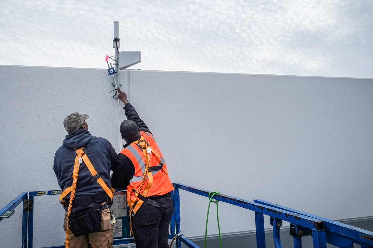 Cell Phone Signal Boosters Deliver Connectivity for IKEA Distribution Center