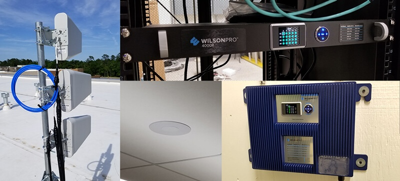 IUOE Installation using Wilson Pro signal boosters
