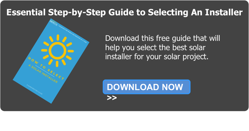 Download Guide On How To Select A Solar Installer