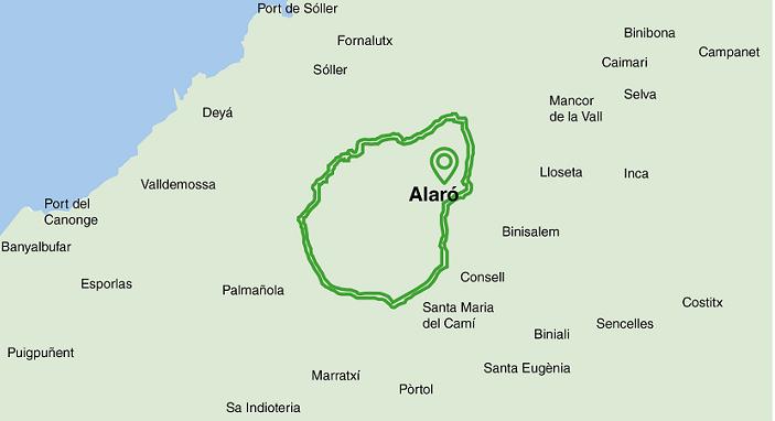 Alaro-Orient-Bunyola-Alaro