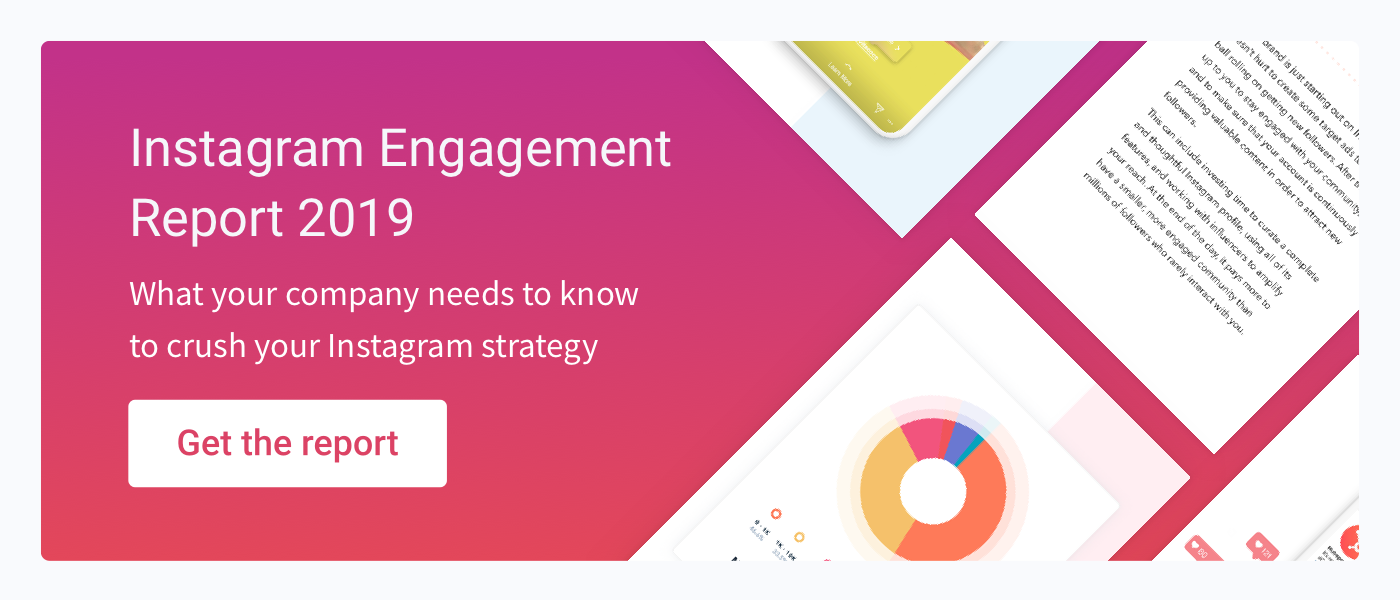 Instagram Engagement Report 2019