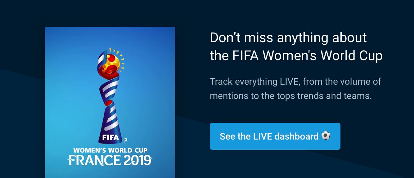 fifa women s world cup 2019 dashboard