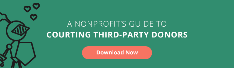 courting third party donors guide
