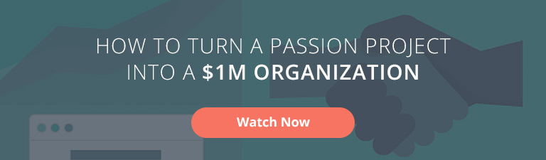 How to Turn a Passion Project into a $1M Organization