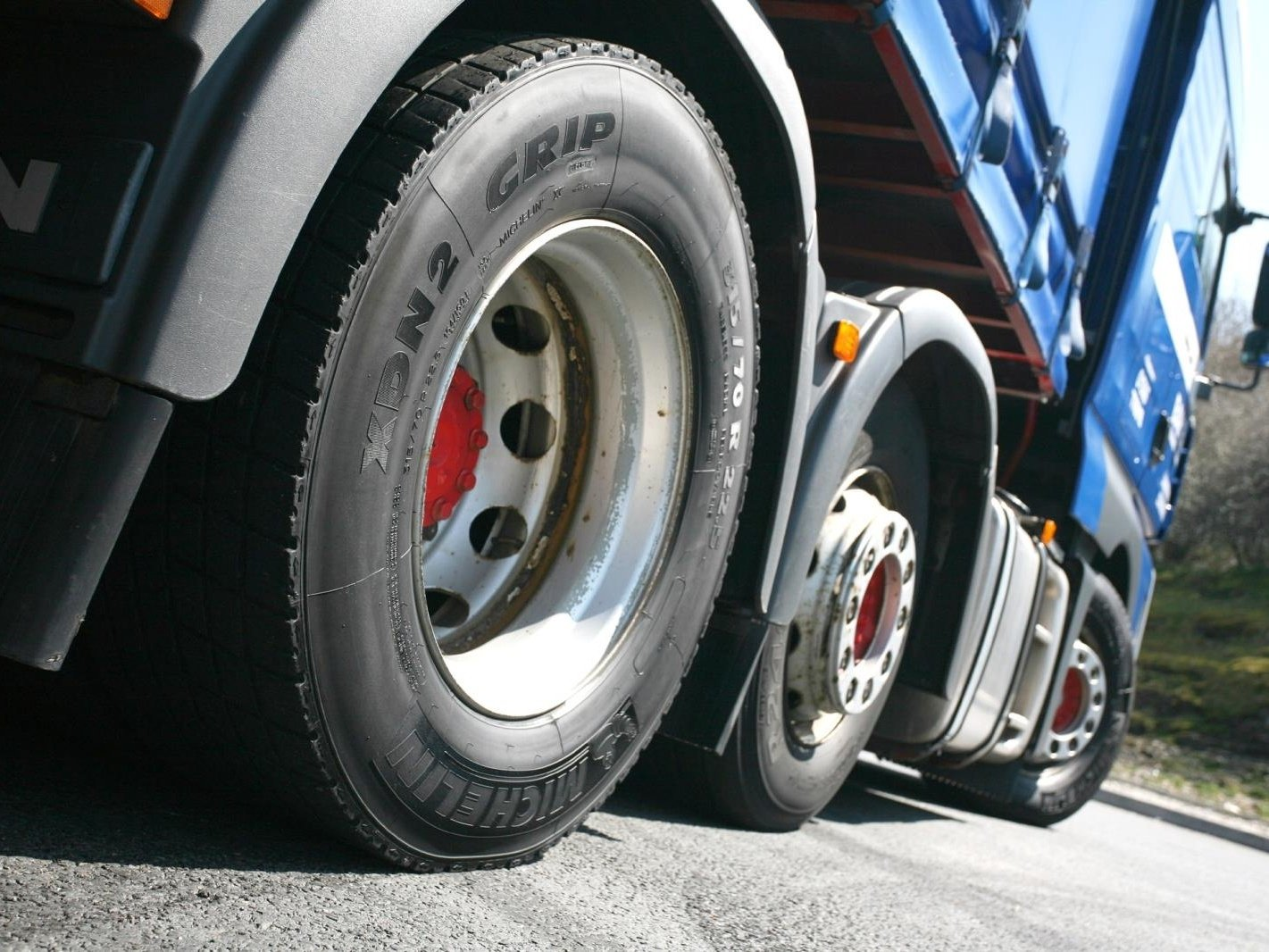 Winter tyres for trucks and buses?