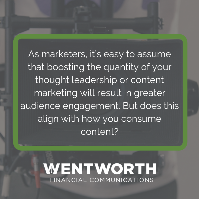 Copy of There's good reason for financial services firms of all types to embrace more visual-based marketing—such as video and motion-graphic animations—to bolster their ongoing written thought-leadership strategy.
