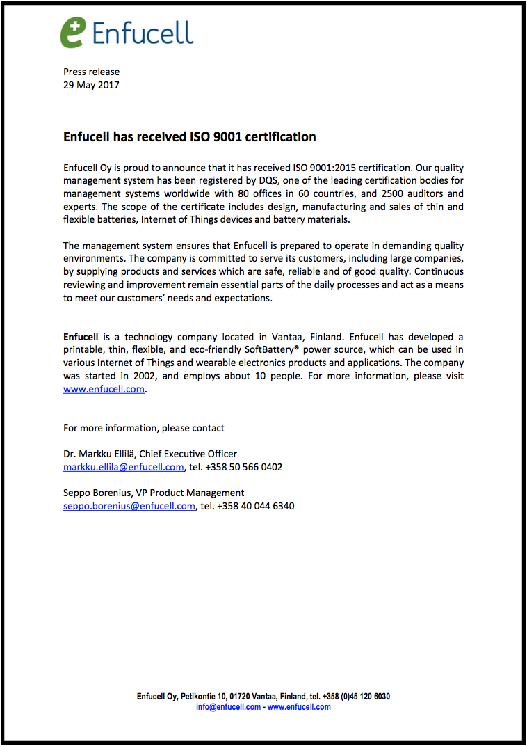Enfucell Press Release with Boarder.png
