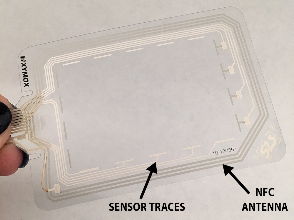 NFC on Sensor